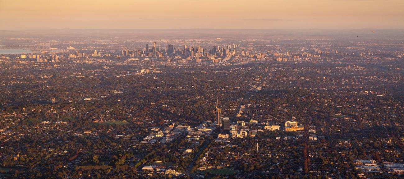 Box Hill Aerial Image